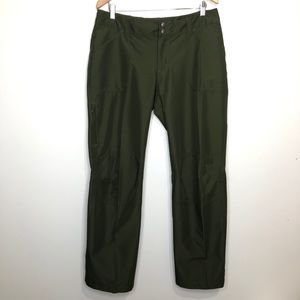 Patagonia Lightweight Olive Green Pants Size 12